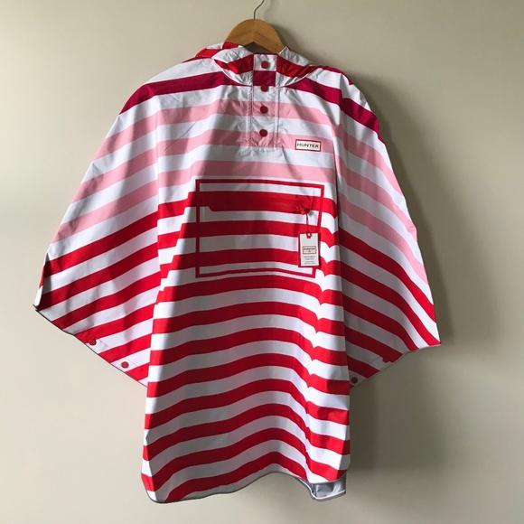 81a1aa340 Hunter Jackets & Coats | Nwt For Target Kids Striped Rain Poncho Xl ...